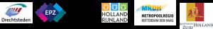 Logo's samenwerkende partijen