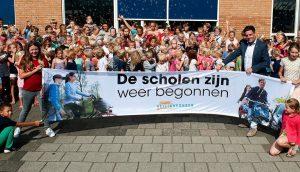 Aftrap campagne in Noordwijk