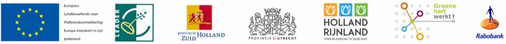 Logo's deelnemende partijen
