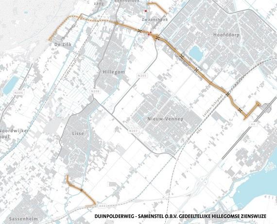 Kaartje Duinpolderweg