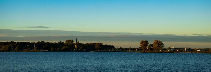 Foto waterlandschap