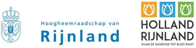 Logo's Hoogheemraadschap en Holland Rijnland