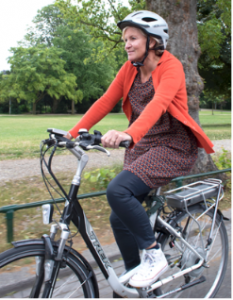 Foto elektrische fiets