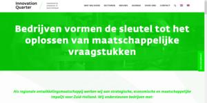 Ga naar de website van het Innovation Quarter