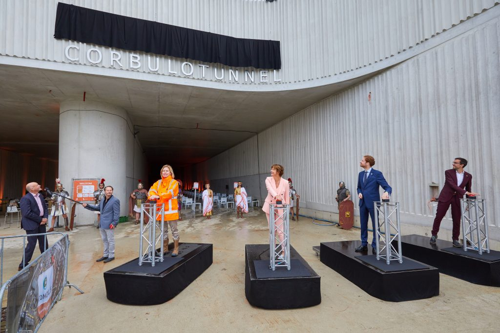 Onthulling Corbulotunnel