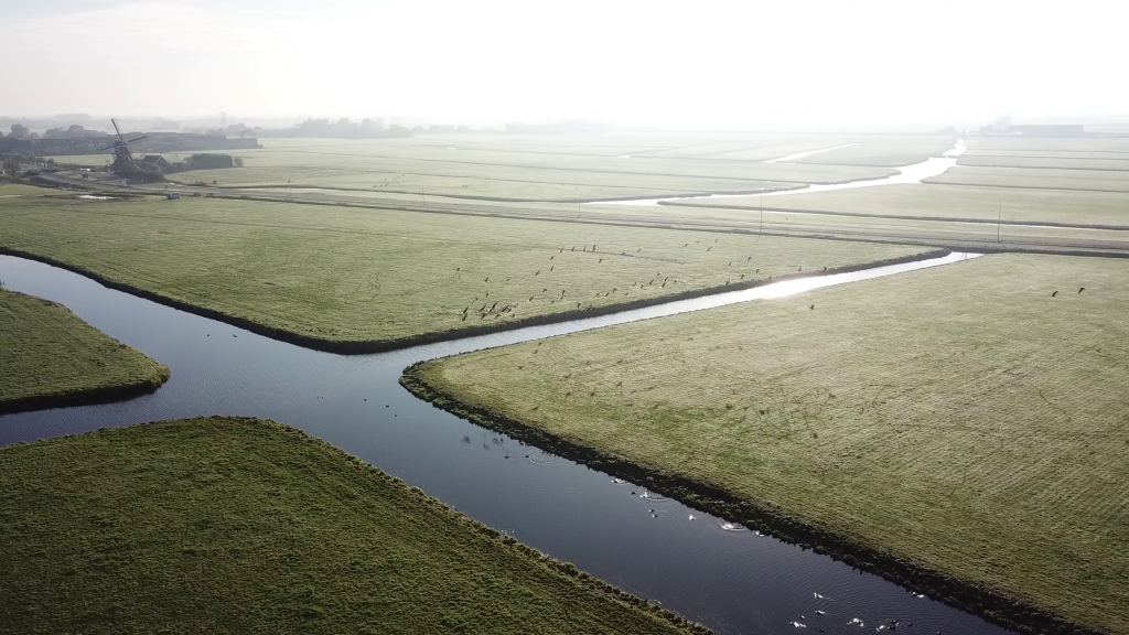Luchtfoto Oud Ade